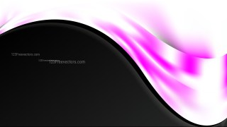 Pink Black and White Wave Business Background Image