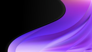 Purple and Black Wave Business Background