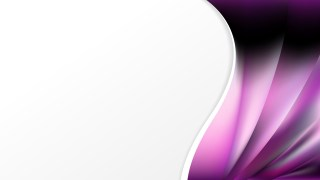 Abstract Purple and Black Wave Business Background Design Template