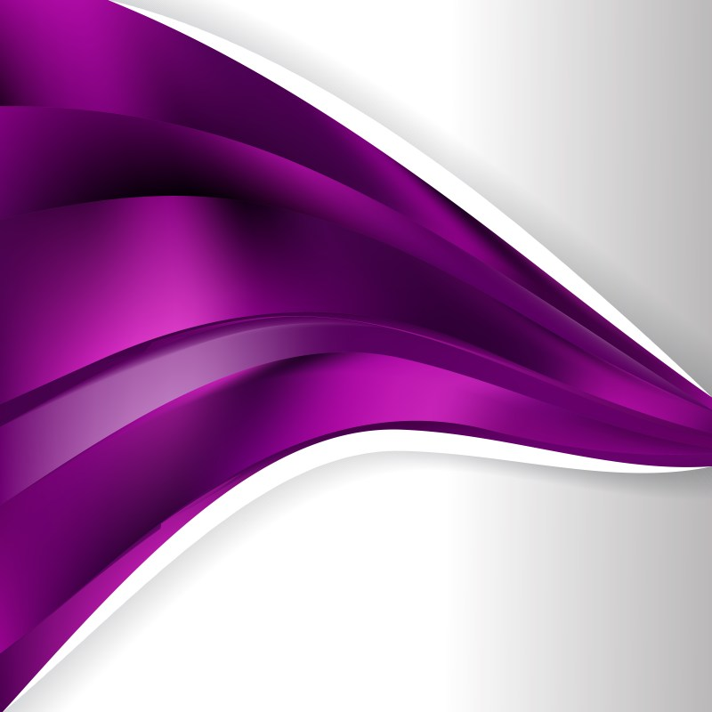 Abstract Purple and Black Wave Business Background