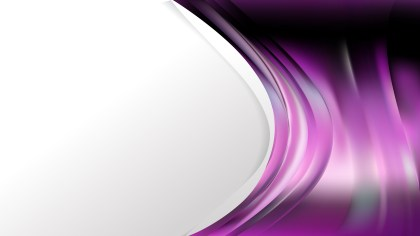 Purple and Black Background Template