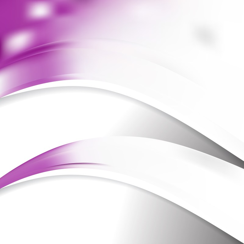 Abstract Purple and White Wave Business Background