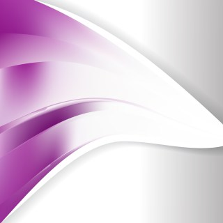 Purple and White Wave Business Background Image