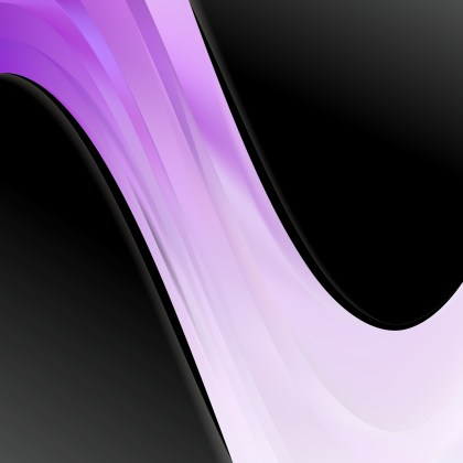 Abstract Purple Black and White Wave Business Background Illustration
