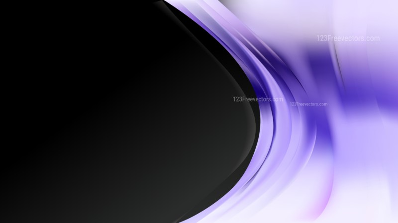 Abstract Purple Black and White Wave Business Background Vector Image