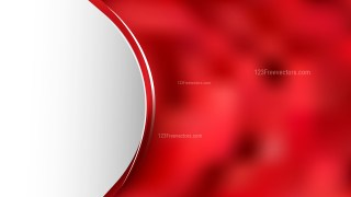 Abstract Red Wave Business Background Illustration