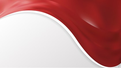 Abstract Red Wave Business Background Design Template