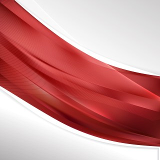 Abstract Red Wave Business Background