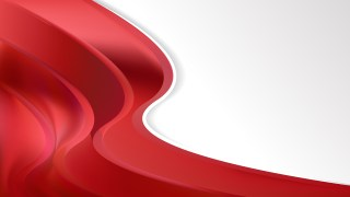Red Wave Business Background Image