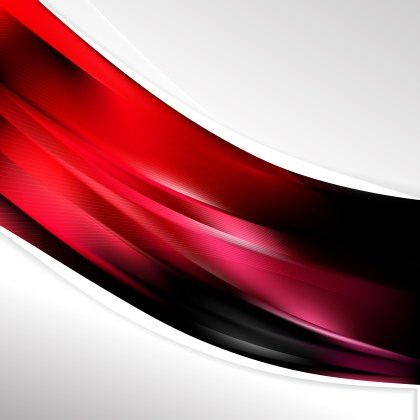 Red and Black Wave Business Background Image