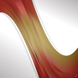 Abstract Red and Gold Wave Business Background Design Template