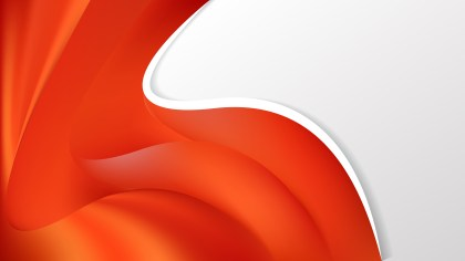 Red and Orange Wave Business Background