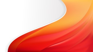 Abstract Red and Orange Wave Business Background Vector Image