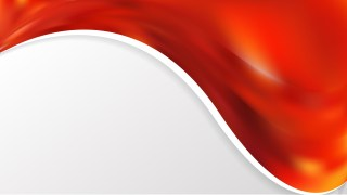 Red and Orange Wave Business Background Image