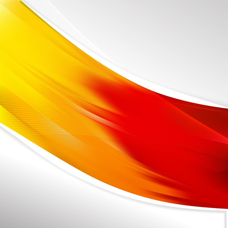 Red and Yellow Brochure Design