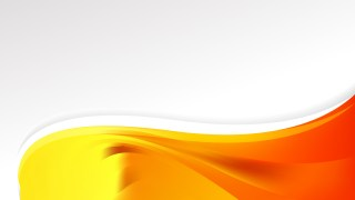 Abstract Red and Yellow Wave Business Background