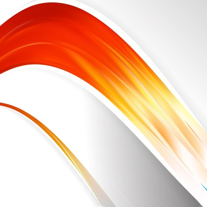 Red White and Yellow Wave Business Background
