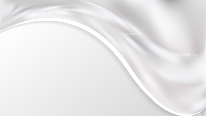 White Wave Business Background