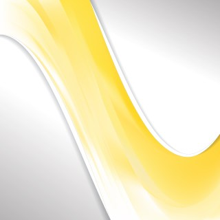 Yellow and White Wave Business Background