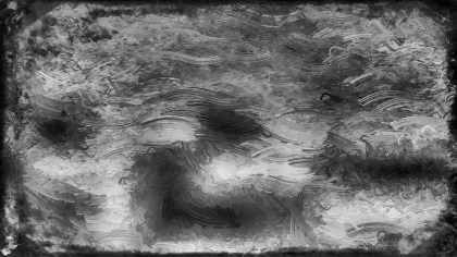 Black and Grey Glass Effect Paint Background Image