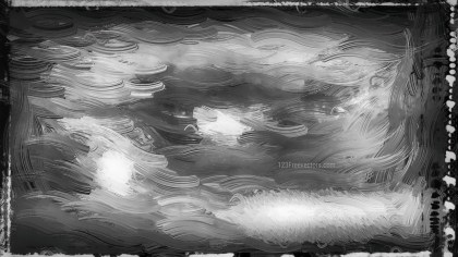 Abstract Black and White Glass Effect Painting Background Image