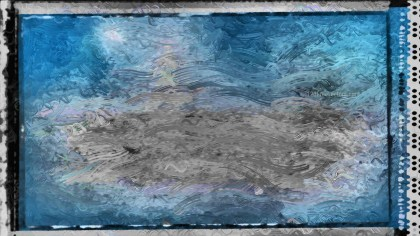 Blue and Grey Glass Effect Paint Background