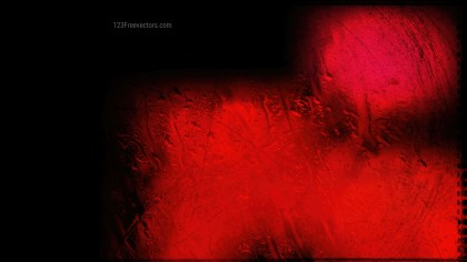 Abstract Cool Red Glass Effect Paint Background