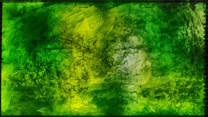 Abstract Dark Green Glass Effect Paint Background Image