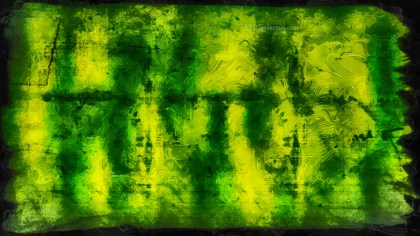 Abstract Green and Black Glass Effect Painting Background