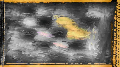 Orange and Black Glass Effect Paint Background Image
