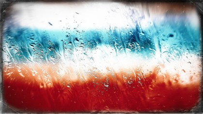 Red White and Blue Glass Effect Paint Background Image