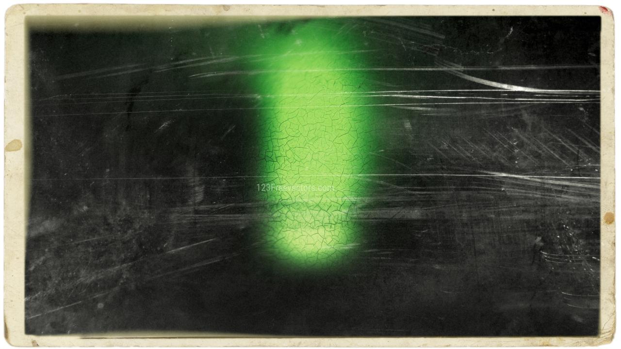 Green and Black Old Vintage Background Image
