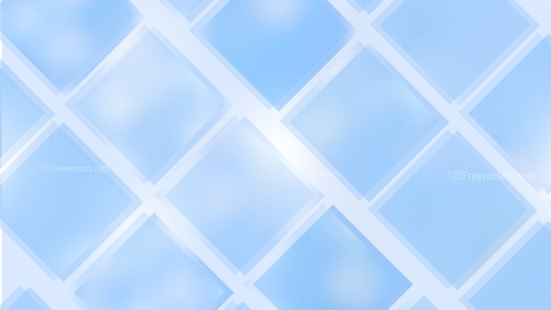 Baby Blue Square Lines Background Vector Art