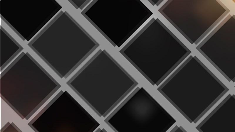 Black Square Lines Background