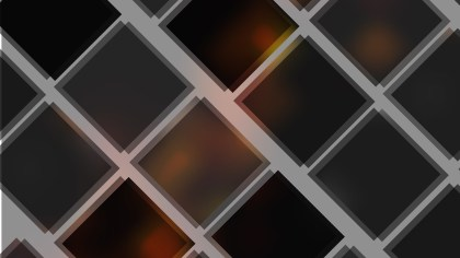 Abstract Black and Brown Square Lines Background Vector Image