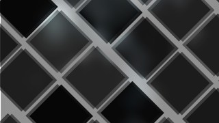 Abstract Black and Grey Square Lines Background