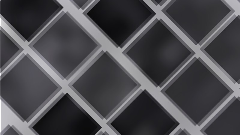 Abstract Black and Grey Square Lines Background Illustration