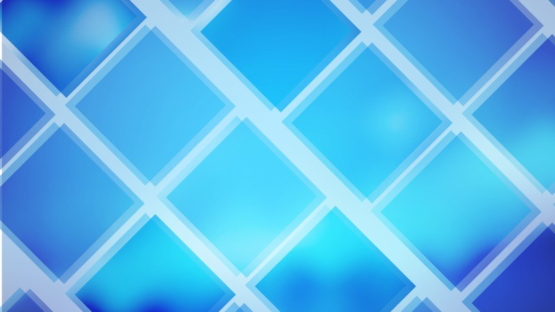 Abstract Blue Square Lines Background Illustration