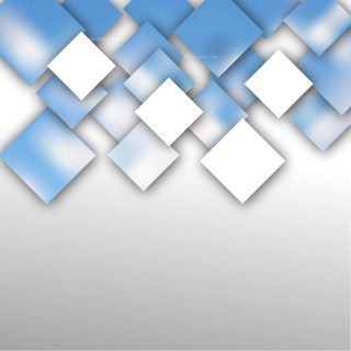 Abstract Blue and White Square Background Vector Illustration