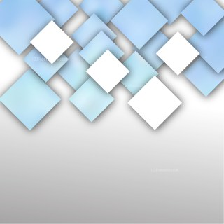 Abstract Blue and White Square Background
