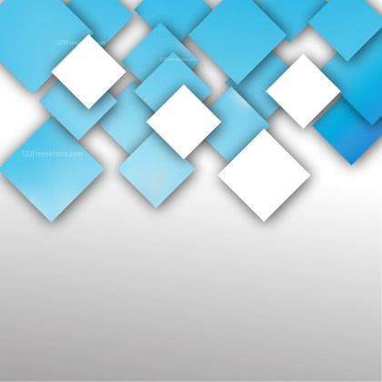 Abstract Blue and White Square Modern Background Image