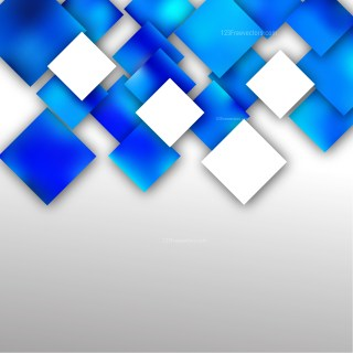 Blue and White Modern Square Abstract Background