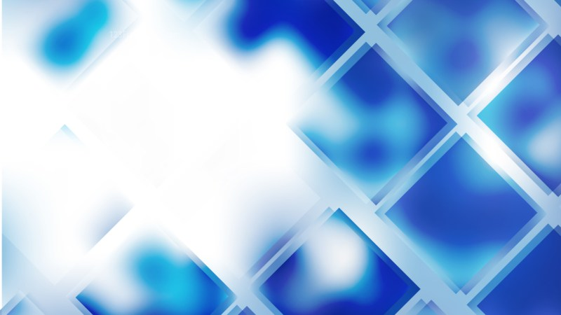 Blue and White Square Background