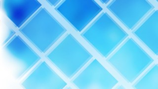 Blue and White Square Lines Background Vector Art