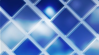 Blue and White Square Lines Background