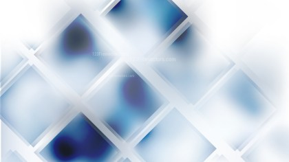 Blue and White Square Lines Background Image