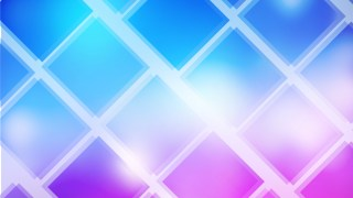 Blue Purple and White Square Background