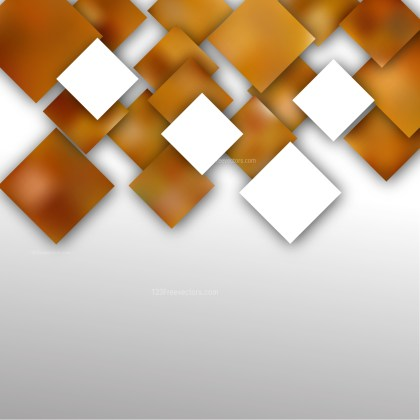 Abstract Brown and White Square Modern Background Design Template