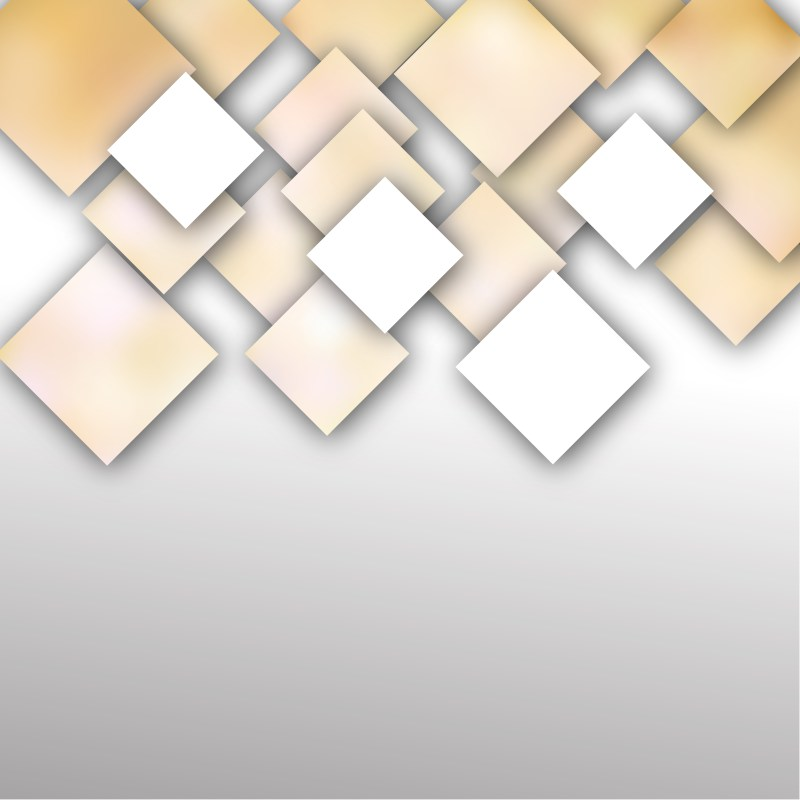 Modern Brown and White Square Background Design Template