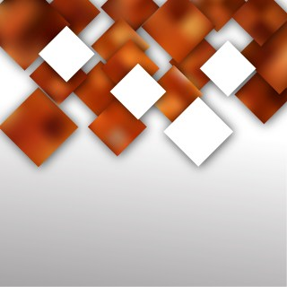 Abstract Brown and White Square Background Vector Illustration
